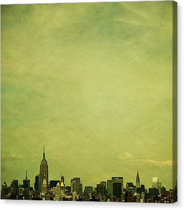 Usa Canvas Print - Escaping Urbania by Andrew Paranavitana