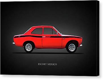 Escort Mexico Mk1 Canvas Print by Mark Rogan