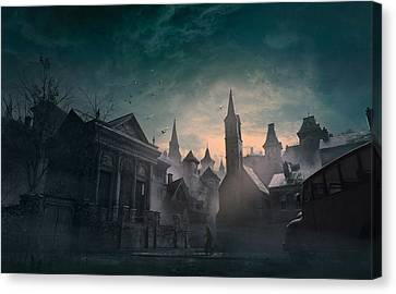 Ship Canvas Print - Esoteric Order Of Dagon by Guillem H Pongiluppi