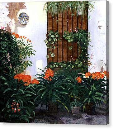 Canvas Print featuring the painting Espana by Lynne Reichhart