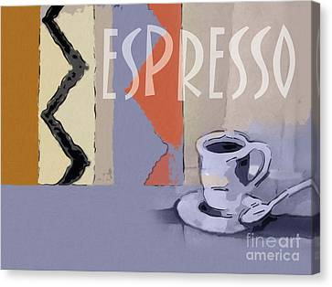 Espresso Poster Canvas Print by Lutz Baar