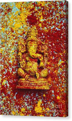 Essence Of Ganesha Canvas Print by Tim Gainey