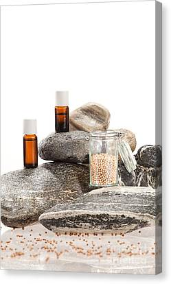 Essential Oil From Coriander Canvas Print by Wolfgang Steiner