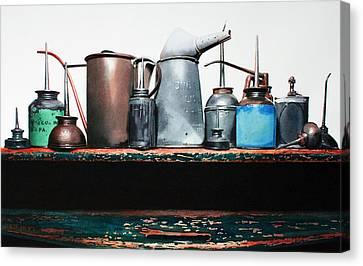 Essential Oils Canvas Print by Denny Bond
