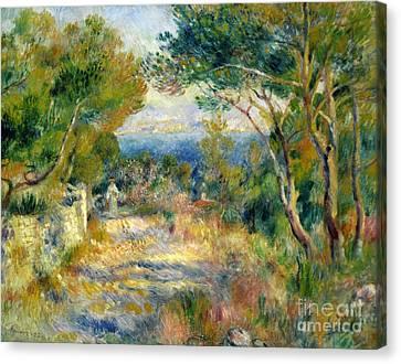 Estaque Canvas Print by Renoir