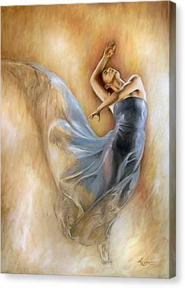 Estasi Canvas Print by Thomas Langeveld
