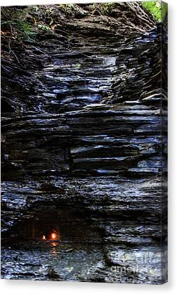 Eternal Flame Falls Canvas Print by Darleen Stry
