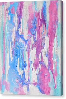 Eternal Flow Canvas Print by Irene Hurdle