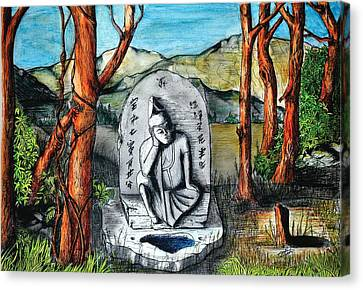 Eternal Rest Canvas Print by David Syers