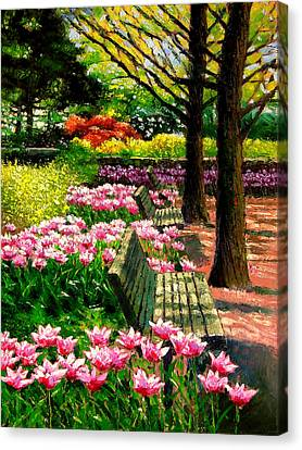 Eternal Spring Canvas Print by John Lautermilch