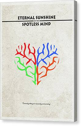 Eternal Sunshine Of The Spotless Mind - Alternative And Minimalist Poster Canvas Print by Ayse Deniz