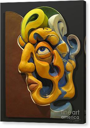 Eternal Thoughts Of A Mortal Mind Canvas Print by James Day