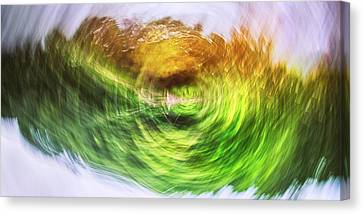 Eternally Spinning Canvas Print by Scott Norris