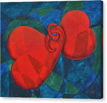 Eternally Yours Canvas Print by Leana De Villiers