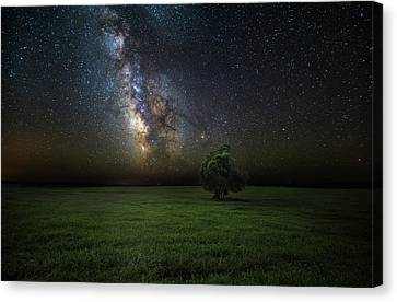 Canvas Print featuring the photograph Eternity by Aaron J Groen