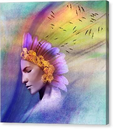 Ether Canvas Print by Scott Meyer