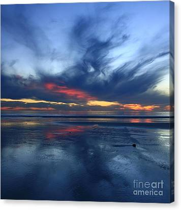 Ethereal Beach Blues Canvas Print