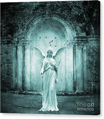 Ethereal Essence Canvas Print by KaFra Art