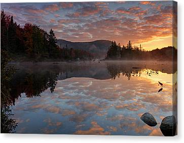 Canvas Print featuring the photograph Ethereal Reverie by Mike Lang