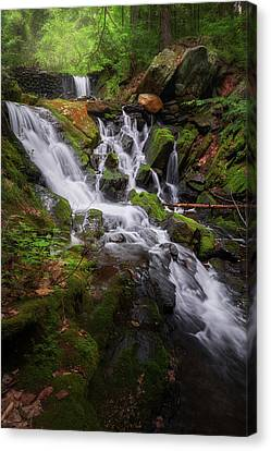 Canvas Print featuring the photograph Ethereal Solitude by Bill Wakeley