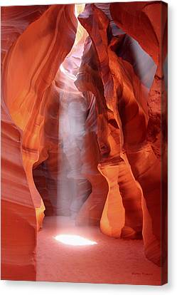 Canyon Canvas Print - Ethereal by Winston Rockwell