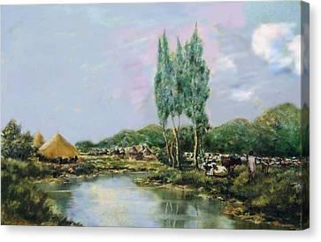 Ethiopian Countryside. Canvas Print