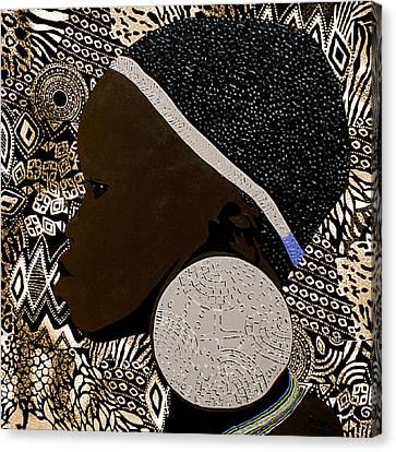 Ethiopian Girl 8 Canvas Print