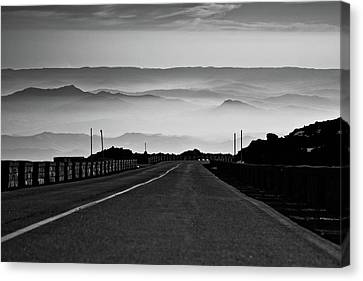 Etna Road Canvas Print by Bruno Spagnolo