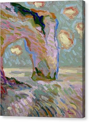 Etretat -1 Canvas Print