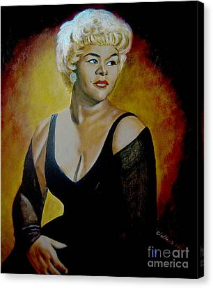Etta James Canvas Print
