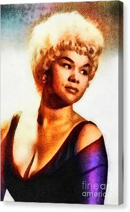 Etta James, Music Legend Canvas Print