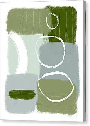 Interior Designer Canvas Print - Eucalyptus Breeze  2- Art By Linda Woods by Linda Woods