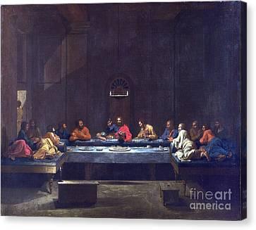 Eucharist - The Last Supper Canvas Print