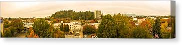 Eugene Fall Color Canvas Print
