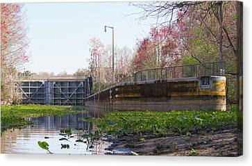 Florida Canvas Print - Eureka Lock by Paul Rebmann