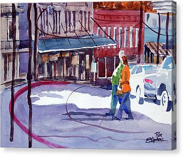 Eureka Springs Ak 3 Canvas Print