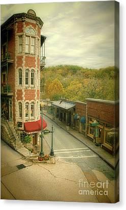 Eureka Springs Canvas Print by Jill Battaglia