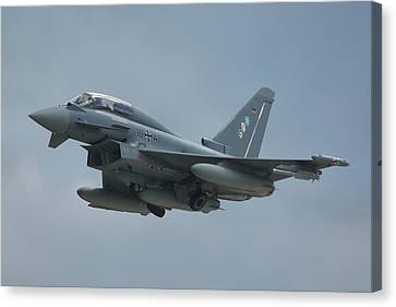 Eurofighter Ef2000 Canvas Print by Tim Beach