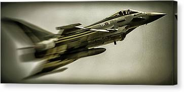 Eurofighter Typhoon Canvas Print by Martin Newman