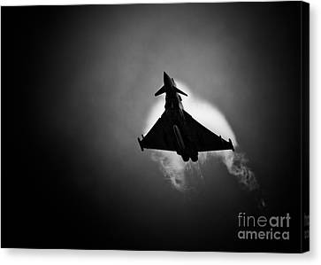 Eurofighter Typhoon Canvas Print by Rastislav Margus