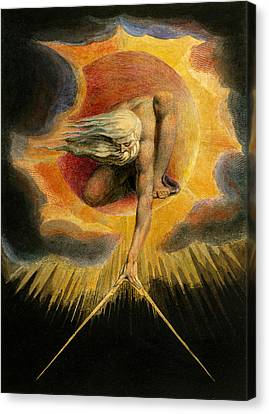 Europe A Prophecy Canvas Print by William Blake