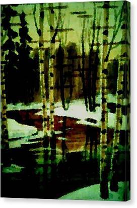 European Spring Canvas Print by Dr Loifer Vladimir