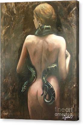 Eva Canvas Print by Sergey Ignatenko