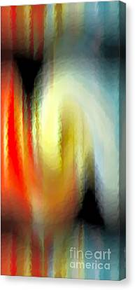 Evanescent Emotions Canvas Print by Gwyn Newcombe