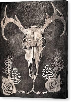 Evanescente Cadere Canvas Print by Chantelle DeNicolo