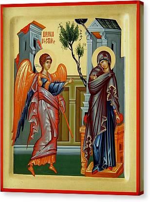 Evanghelismos Canvas Print by Daniel Neculae