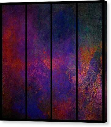 Evasion Canvas Print by Karo Evans