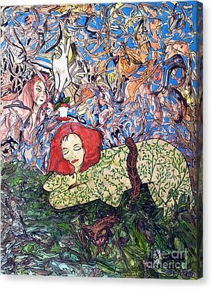 EVE Canvas Print by Morgan Long