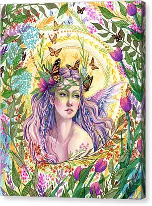 Eve Canvas Print by Sara Burrier