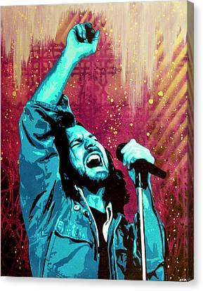 Even Flow Canvas Print by Bobby Zeik